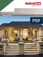 WA Roof Tiles Brochure 2013