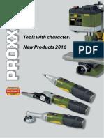 Proxxon Micromot New Products 2016