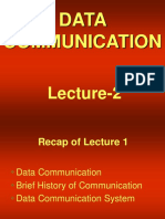 data communication - cs601 power point slides lecture 02