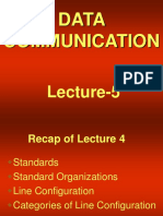 data communication - cs601 power point slides lecture 05