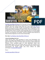 Cara Hack Game Rules of Survival