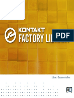 Kontakt Factory Library Manual English