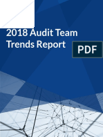 2018 Audit Team Trends Report