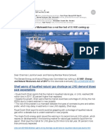The Global Shortage of LNG Will TEST and FAIL S.1460
