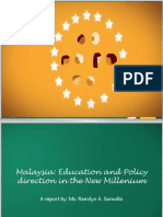 Malaysia'SEducation and Policy