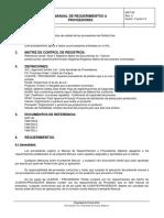 Manual de Requerimientos a Proveedores