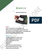 Cambiar Disco Duro Xbox One