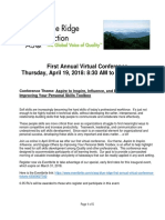 asq first annual virtual conference program