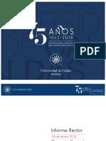 Informe del Rector U. de Caldas al Consejo Superior – 26 febrero de 2018