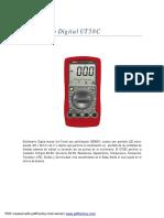 Multimetro Digital UT58C