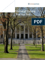IELTS Practice Materials General TrainingTest