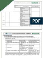 Registro de Manutenção Corretiva-preventiva