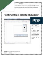 Barras y Ventanas de Coreldraw Personalizadas