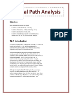 Critical Path Analysis for Word
