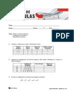 Teste Diagnóstico Quimica