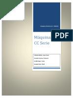 Trabajo - Maquinas CC Serie