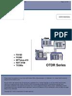 OTDR Series E-Manual D07!00!076-RevC00