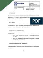 PROCEDIMIENTO DE GRADO DE ADHERENCIA PINTURA.pdf