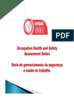Apresentação Administração Aplicada OHSAS 18001