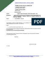 Informes Supervision Calerapata 2015