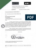 Respuesta OSCE - Dictamen sobre barreras de Acceso