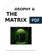 Philosophy the Matrix