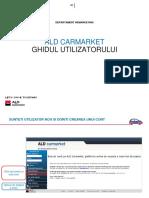 ALD Carmarket - Ghidul Utilizatorului