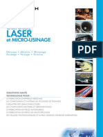 Laser Processing Brochure French