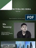 Arquitectura de CHINA