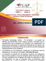 8 Fundación. Comité. Comunidades