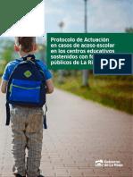 Protocolo de Acoso Escolar-La Rioja