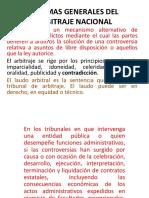 Diapositivas El Arbitraje Nacional