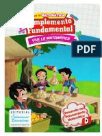 Comple. Fundamental Vive Las Matematicas 4 Cartilla