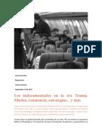 Los Indocumentados en La Era Trump. Miedos, Resistencia, Estrategias... y Más J.L. Rocha