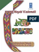 Cosmovision Maya Plenitud de La Vida