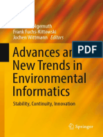Volker Wohlgemuth, Frank Fuchs-Kittowski, Jochen Wittmann Eds. Advances and New Trends in Environmental Informatics Stability, Continuity, Innovation