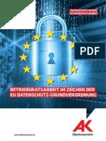 B 2018 Datenschutz BR Grundverordung FORBA