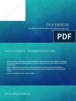 CH 6 Exercise