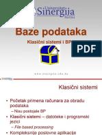 03_Klasicni Sistemi i BP