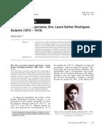 Sobre Laura Esther Rodriguez Dulanto