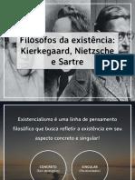 kierkegaardnietzschesartreeoexistencialismo-161113102739 (1)
