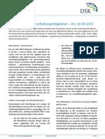 DSK Datenschutz DSGVO