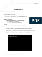 5.2.1.7 Lab - Install Windows XP