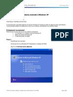5.2.2.5 Lab - Advanced Installation of Windows XP
