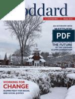Goddard College Winter 2018 Clockworks