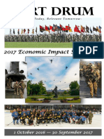Fort Drum fiscal year 2017 economic impact statement