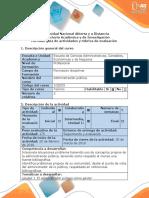 Guía de Actividades y Rubrica de Evaluacion Fase 2 Definir y Analizar El Problema