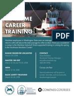 Maritime Training Spring 2018 Flyer