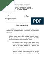 Complaint-Affi Par 1(a) Art266-A