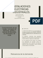 1.3-Comportamiento de cargas.Conceptos de demanda,perfiles y factores de demanda,etc.1.4Nuevo esquema tarifario 2018